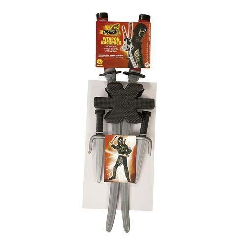 Accesorio Disfraz Set Espada Ninja