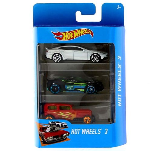 Hot Wheels Pack 3 Vehículos