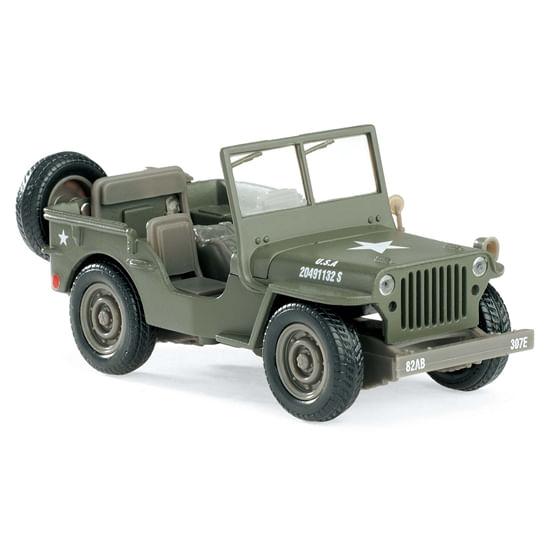 Coche-Miniatura-Jeep-Willys-Militar-Escala-1-32
