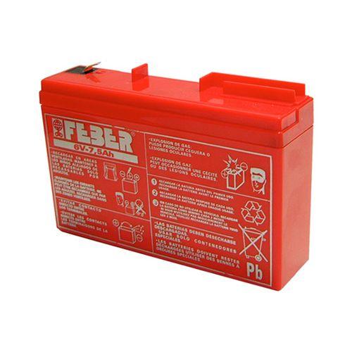 Batería 6V 7.5 AH Feber