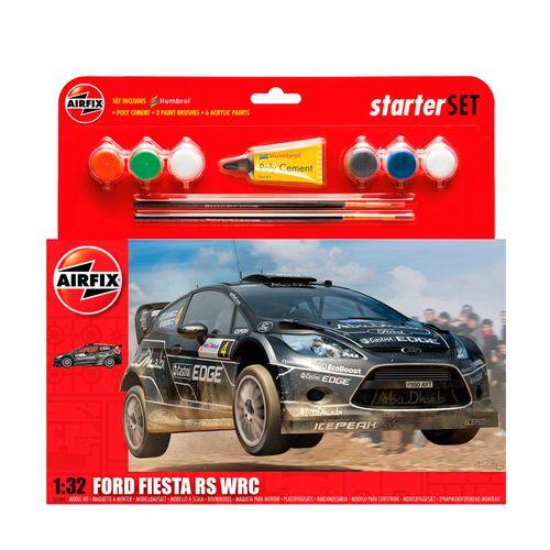 Maqueta de Coche Ford Fiesta WRC Escala 1:32