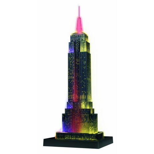 Puzzle Empire State Buillding night 3D