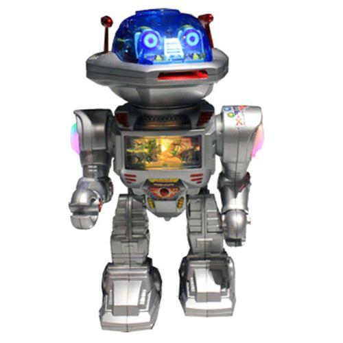 Robot Lanza Discos RC