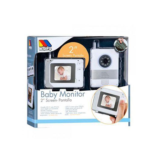 """Vigila bebé digital tech con cámara y pantalla de 2"""""""