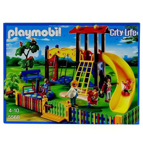 Playmobil City Life Zona de Juegos Infantil