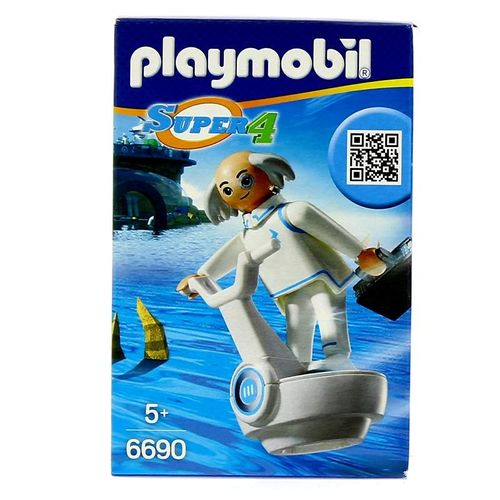 Playmobil Super4 Dr X