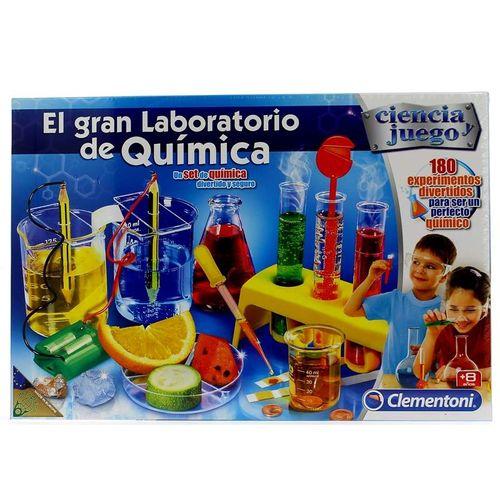 Juego Científico Gran Laboratorio de Química