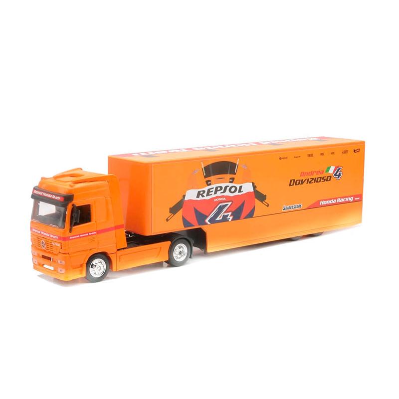 Camion-Miniatura-Honda-Repsol-Merced-Truck-Escala-1-43