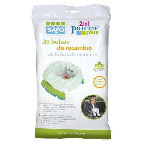 Bolsa Recambio Orinal Potette Plus 30 unidades