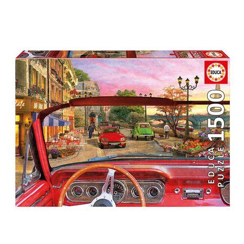Puzzle 1500 Paris Desde El Coche