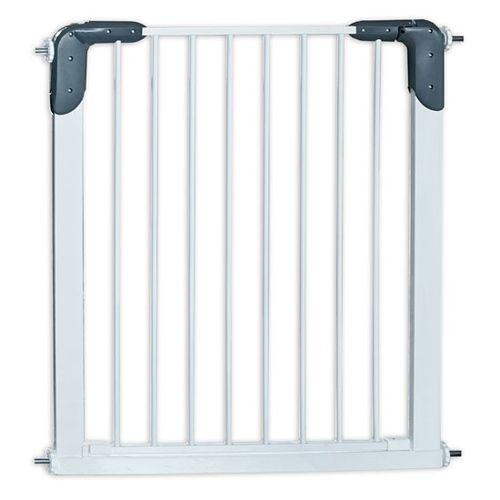 Barrera de puerta metálica gris Alcalá (de 75 a 82 cm )