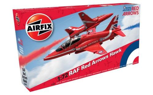 Maqueta Avión RAF Red Arrows Hawk Escala 1:72
