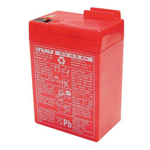 Bateria de 6V 4.5 Ah Feber