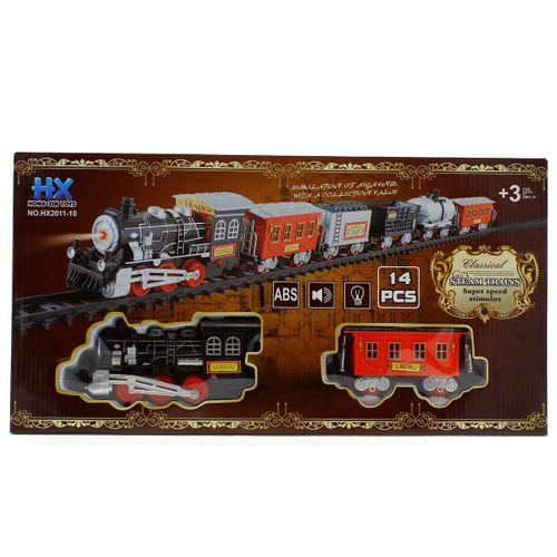 Conjunto de Tren con Vagones