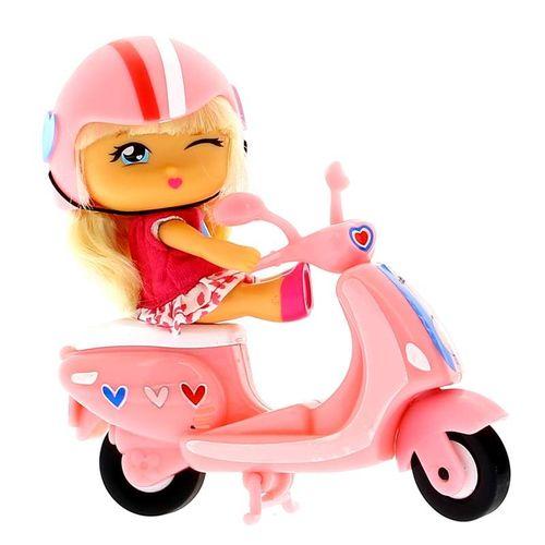 Barriguitas Scooties Moto Rosa