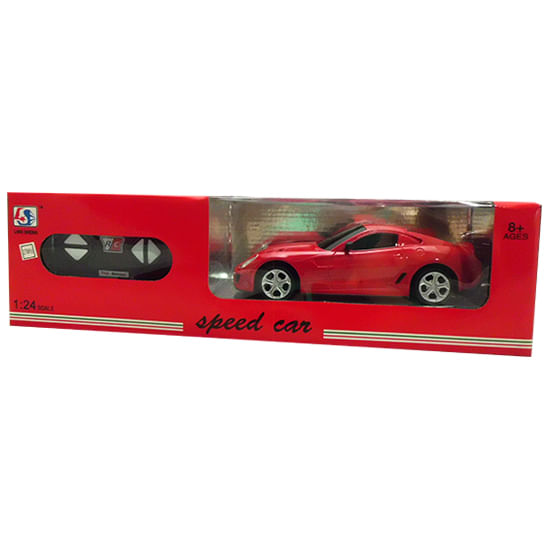 Coche-RC-Speed-Car-Rojo-Escala-1-24