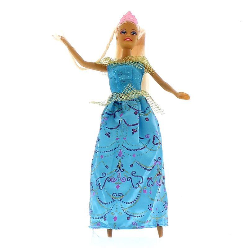 Muñeca-Con-Vestido-Azul-y-Caballo_2
