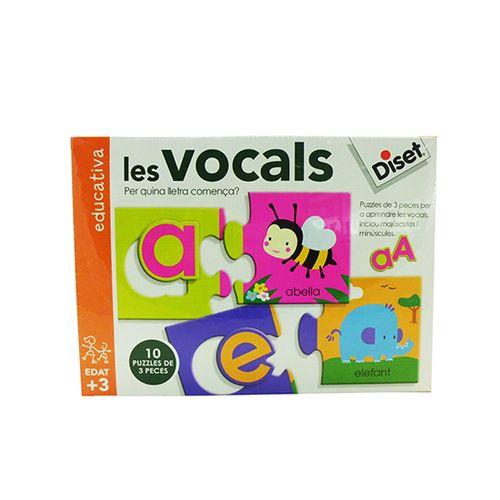 Juego Educativo Vocales Catalán
