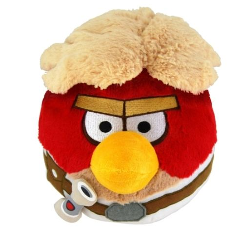 Angry Birds SW Peluche Rojo