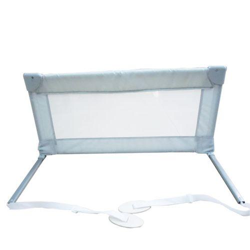 Barrera de cama 90 cm Gris