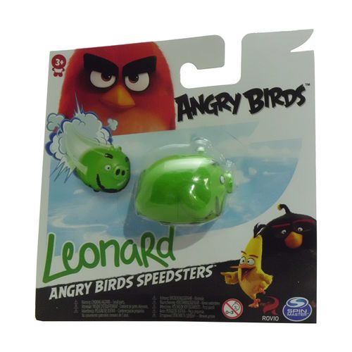 Angry Birds Leonard Sobre Ruedas