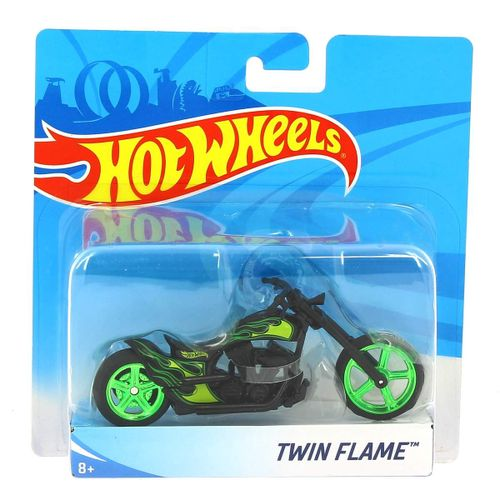 Hot Wheels Moto Twin Flame 1:18