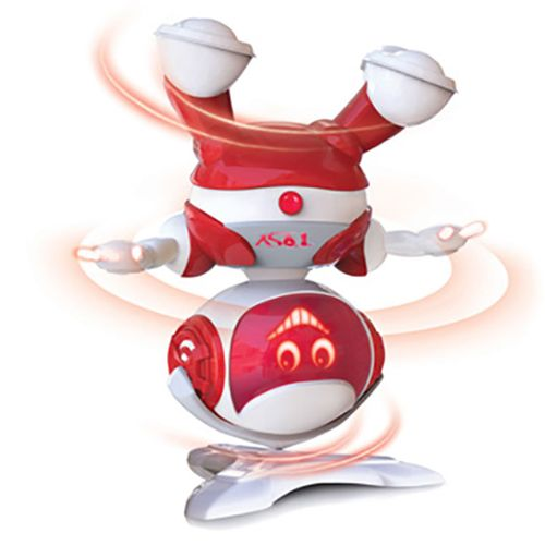 Robot Bailarín Rojo Party Bot