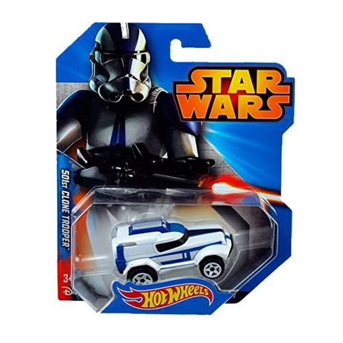 Star Wars Hot Wheels Vehículo Clone Troper