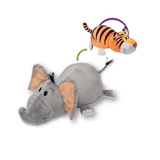 Flipazoo-Peluche-Grande-Elefante---Tigre