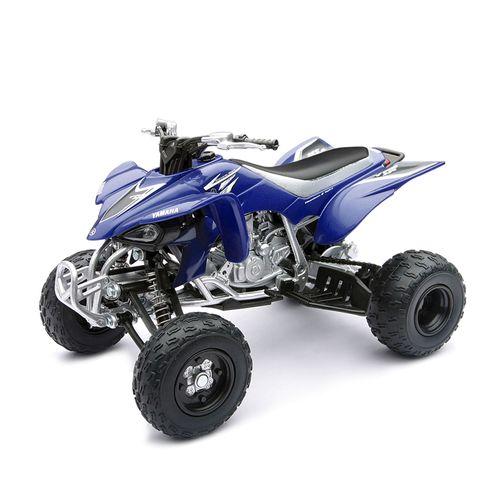 ATV Miniatura Yamaha Azul Escala  1:12