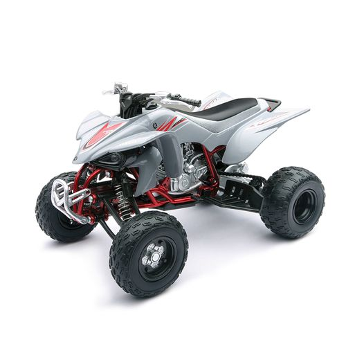 ATV Miniatura Yamaha Blanco Escala 1:12