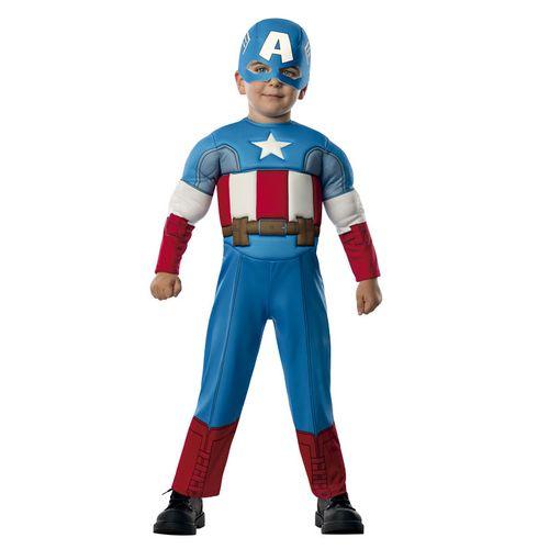 Capitán América Disfraz Acolchado Infantil
