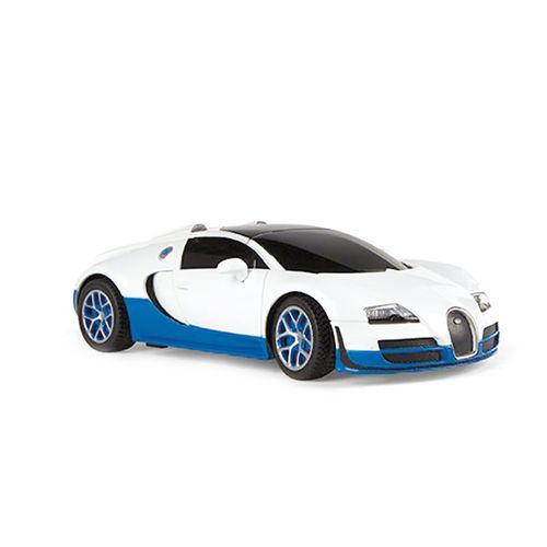 Coche RC Bugatti Grand Sport Blanco Escala 1:24