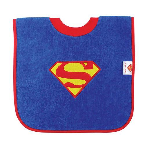 Babero cuello camiseta Superman