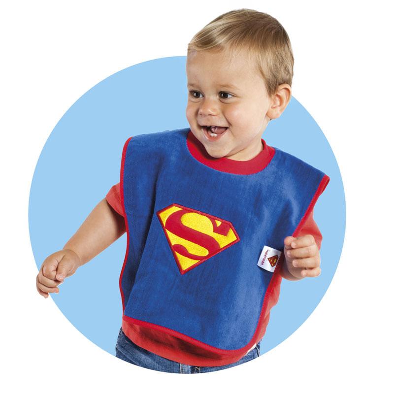 Babero-cuello-camiseta-Superman_1