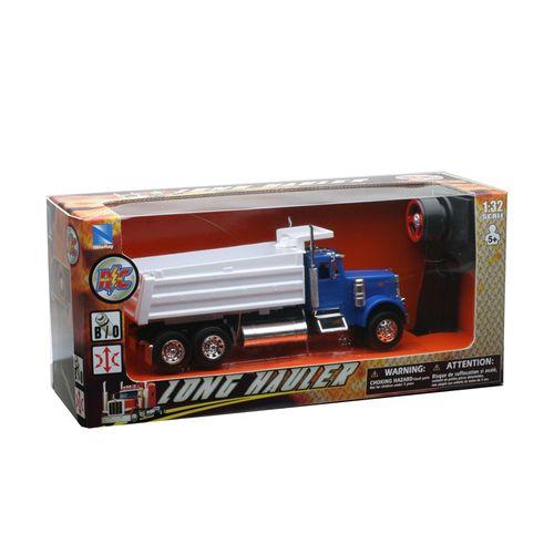 Camión RC Peterbilt Azul Escala 1:32