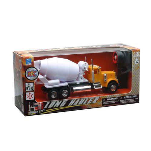 Camión RC Peterbilt Naranja Escala 1:32