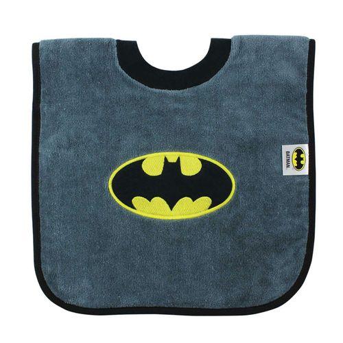 Babero con cuello camiseta Batman