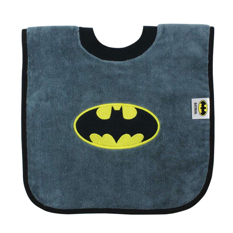 Babero-con-cuello-camiseta-Batman
