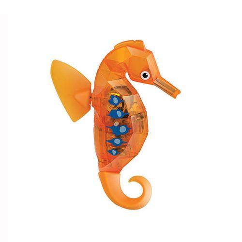 Caballito de Mar Naranja Robótico