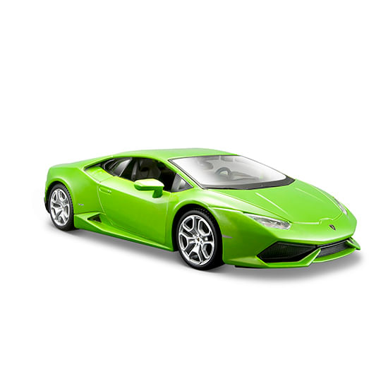 Coche-Miniatura-Lamborghini-Huracan-Lp610-Verde-Escala-1-24