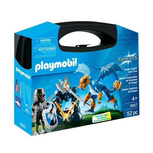 Playmobil Knights Maletín Caballero del Dragón
