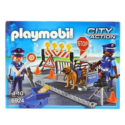 Playmobil City Action Control de Policía