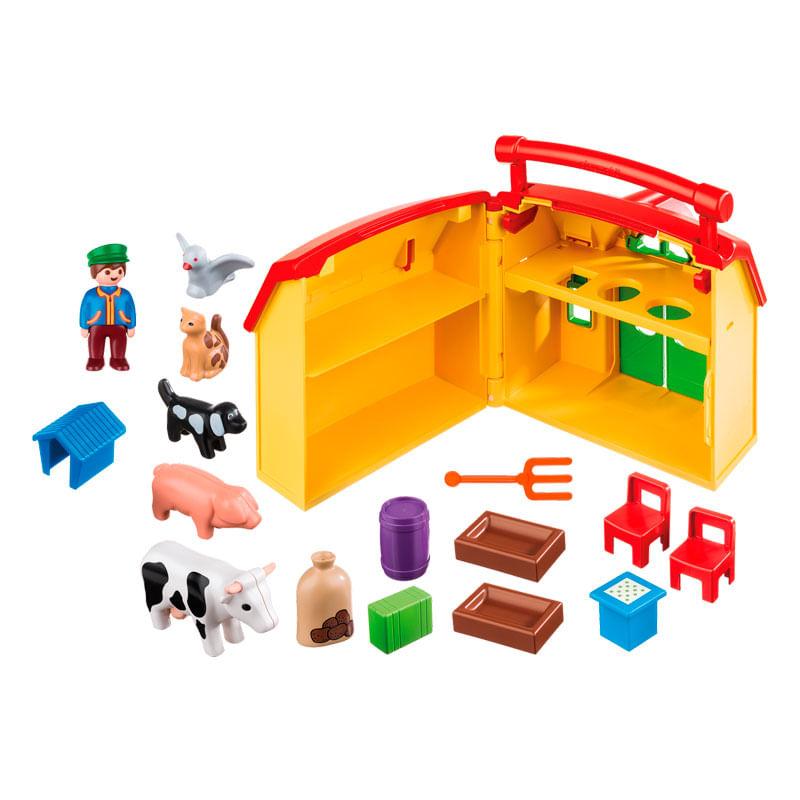 Playmobil-123-Granja-Maletin_3