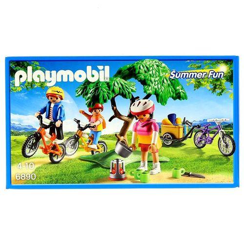 Playmobil Summer Fun Excursión en Bicicleta