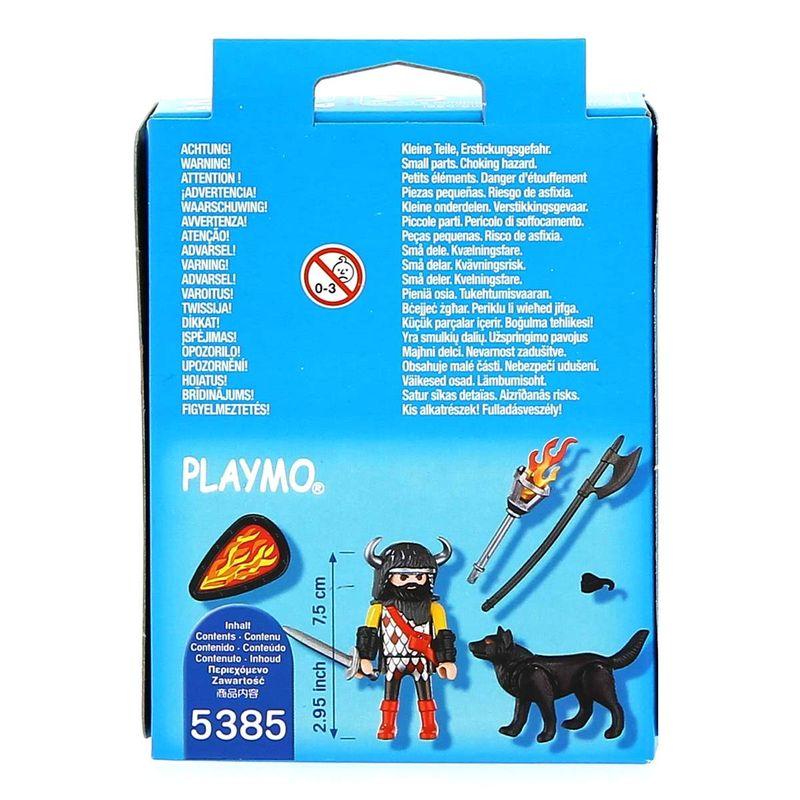 Playmobil-Special-Plus-Guerrero-con-Lobo_2