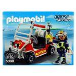 Playmobil-City-Action-Coche-de-Bomberos-Aeropuerto