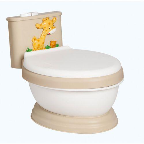 Orinal wc con cisterna blanco y beig