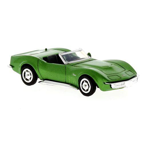 Coche Miniatura Chevrolet Corvette 1969 Escala 1:43