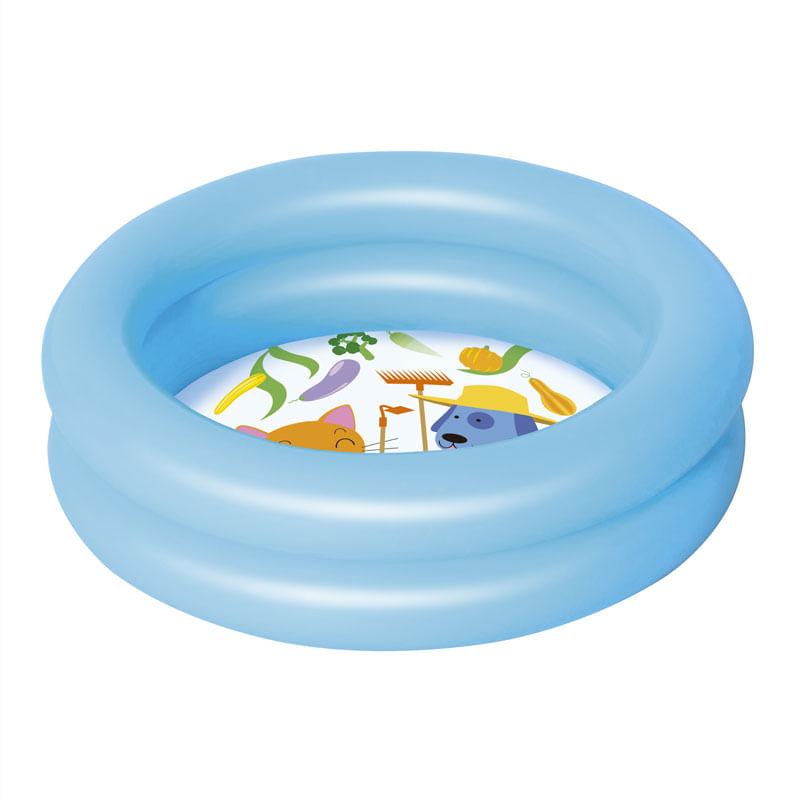 Piscina-Infantil-Azul